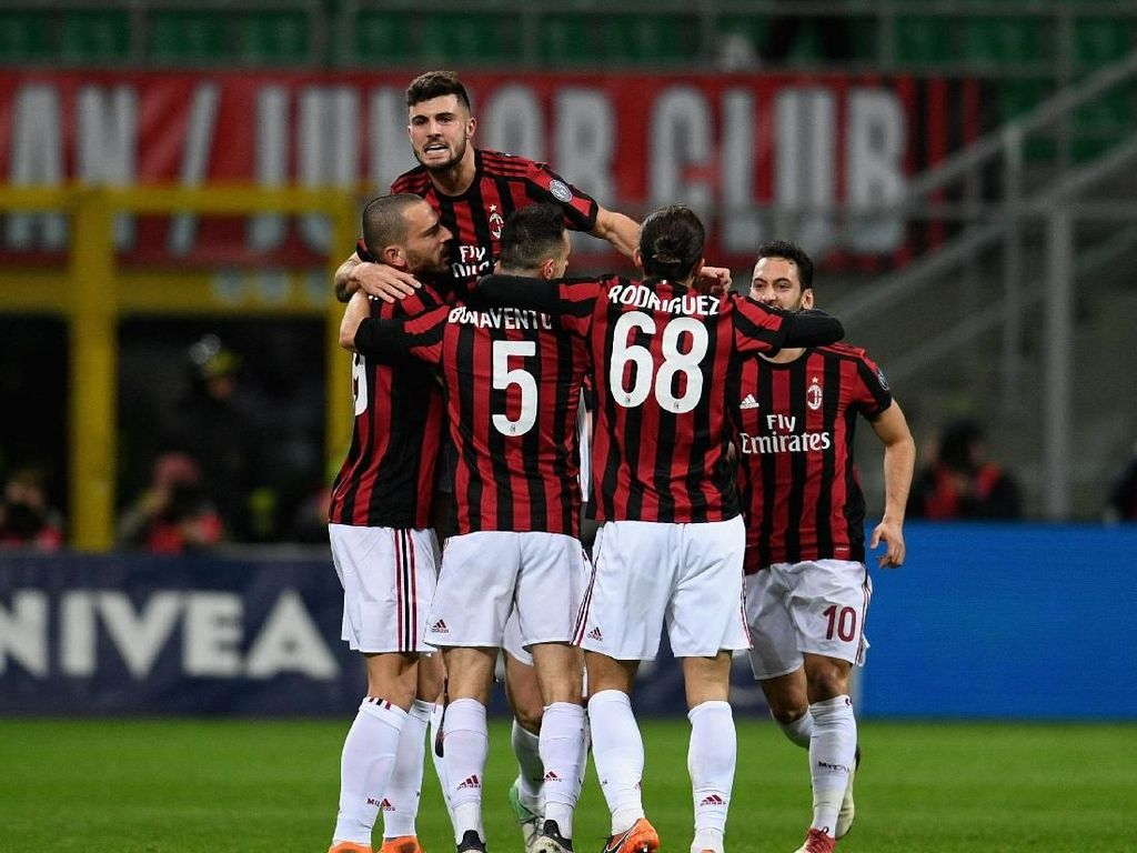 10 Laga Tak Kalah, Milan Kini Membidik Inter
