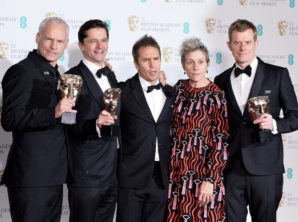 Three Billboards Outside Ebbing, Missouri Film Terbaik BAFTA 2018