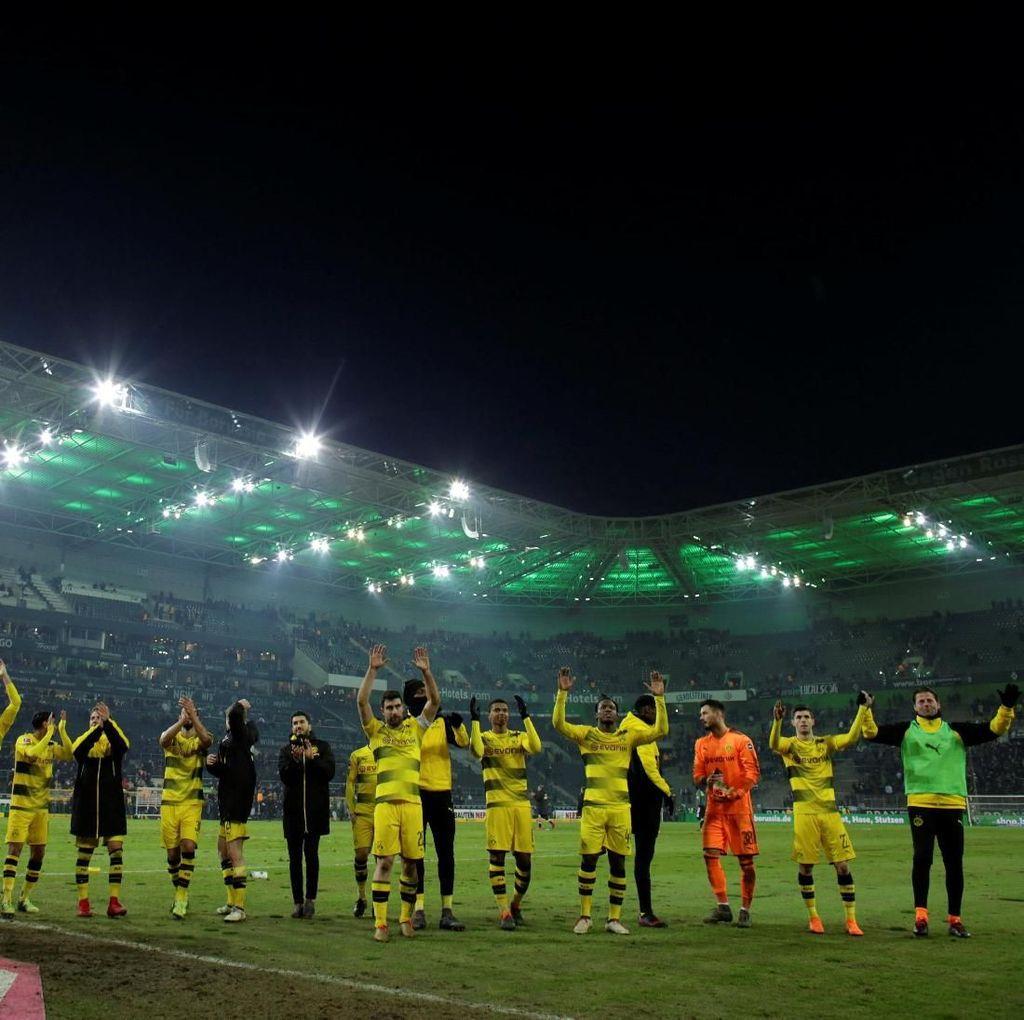 Rekor Stoeger, Rekor Buerki dalam Kemenangan Dortmund
