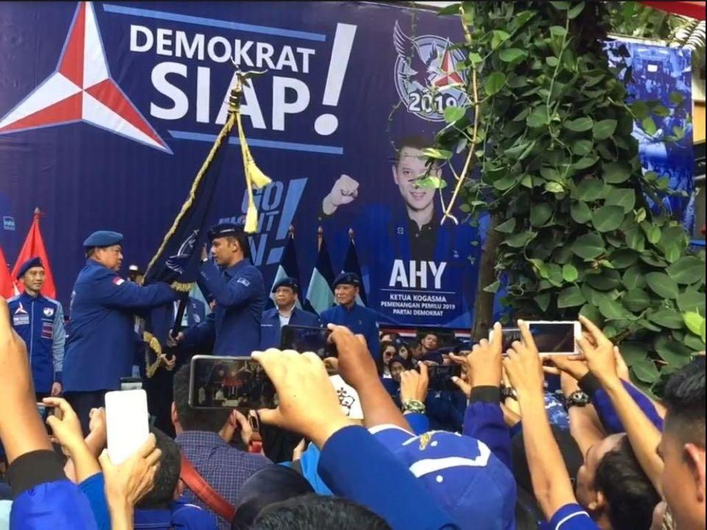 AHY soal Mandat dari SBY Pimpin Pemenangan Demokrat: Berat tapi Mulia