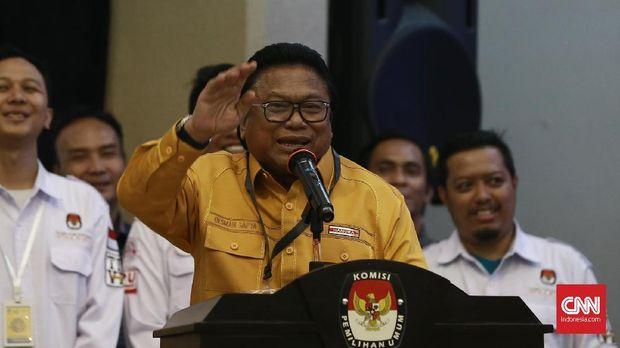 Ketua Umum Partai Hanura sekaligus Ketua DPD Oesman Sapta Odang (OSO).