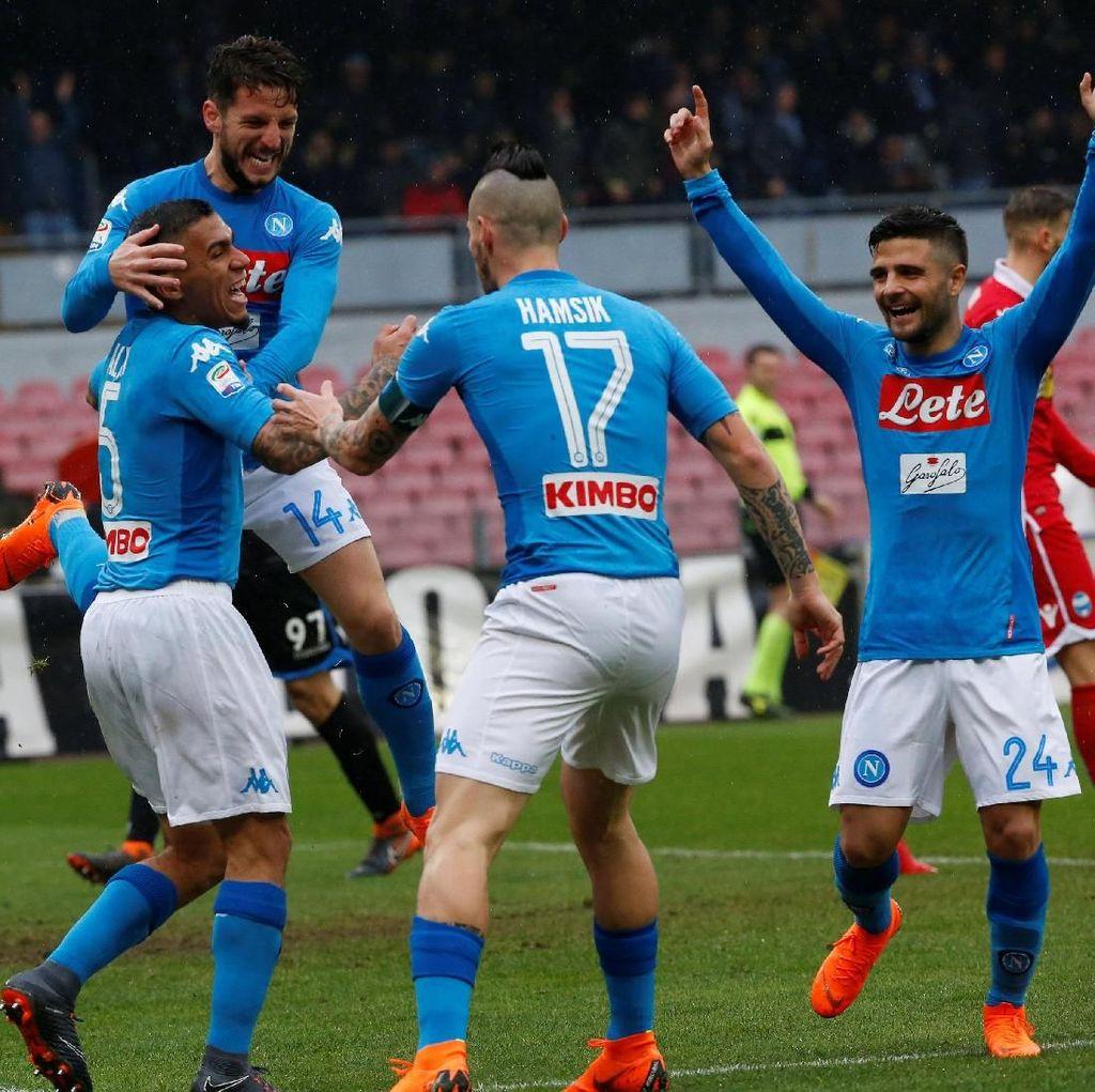 Napoli-Juve Melaju Catatkan Rekor Kemenangan Beruntun