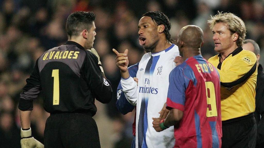 Chelsea vs Barca: Dari Rivaldo dan Torres, Juga Frisk dan Ovrebo