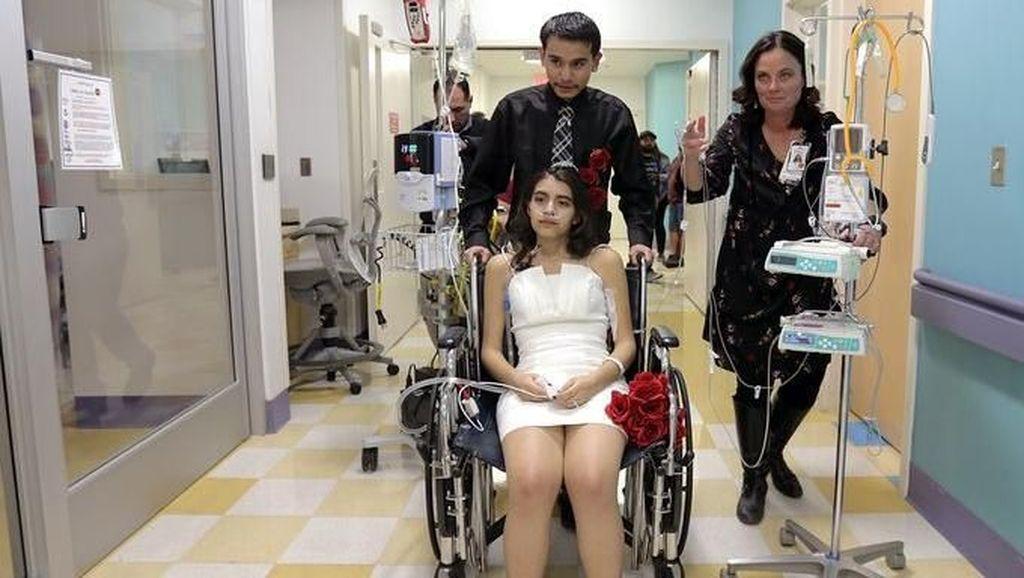 Menikah di Rumah Sakit, Kisah Pengantin Wanita Ini Berakhir Tragis