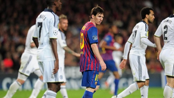 Chelsea Sedang Dominan atas Barcelona