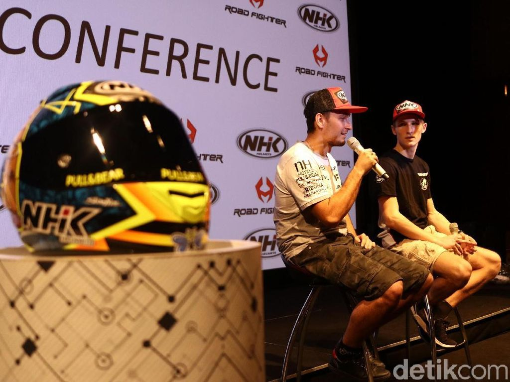 Helm Pebalap MotoGP Murni Made in Indonesia