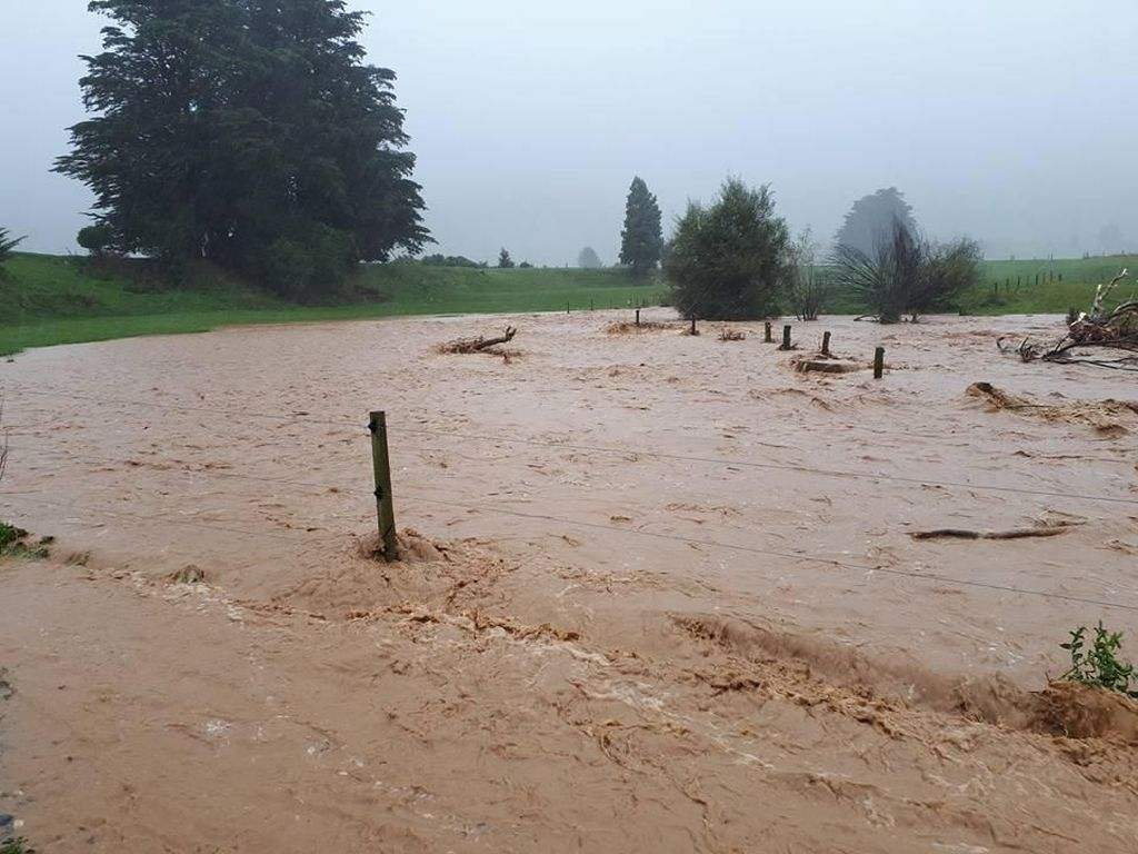 Penampakan Banjir di Selandia Baru Gara-gara Siklon Gita
