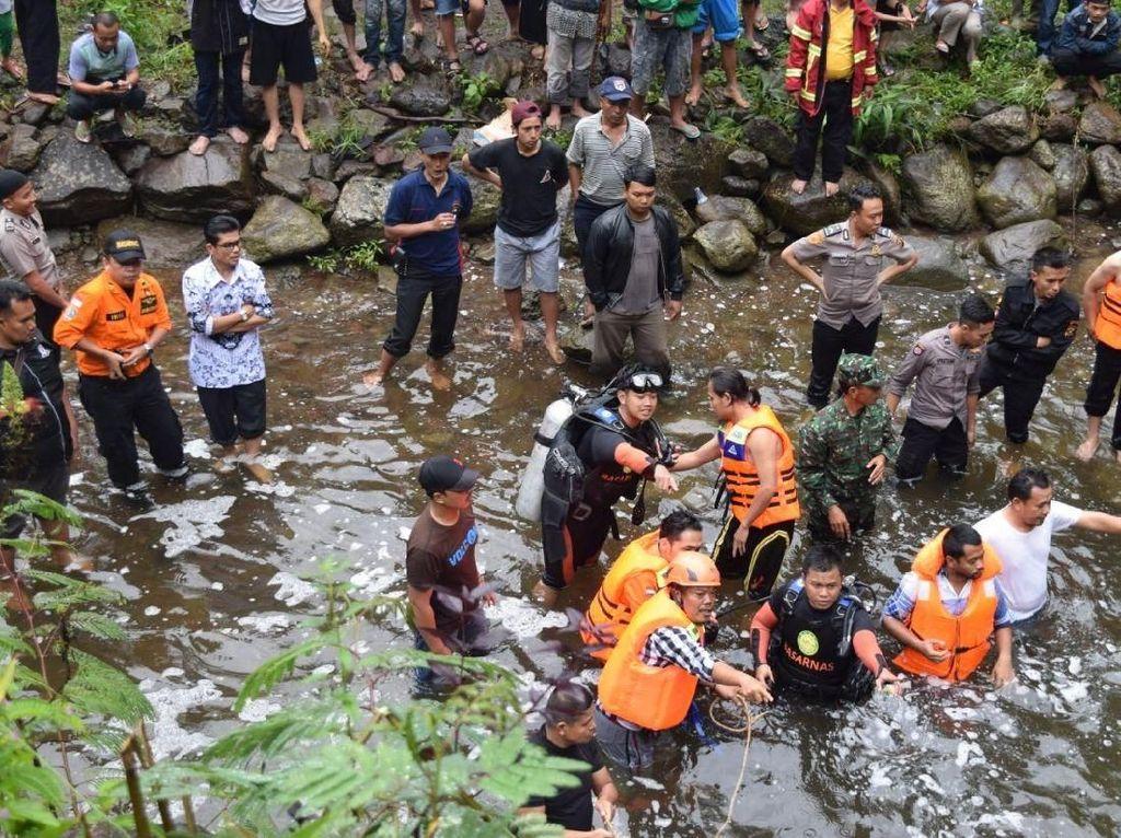 24 Orang Tewas, Bus Masuk ke Jurang Dalam dan Nyebur Sungai di Pagar Alam