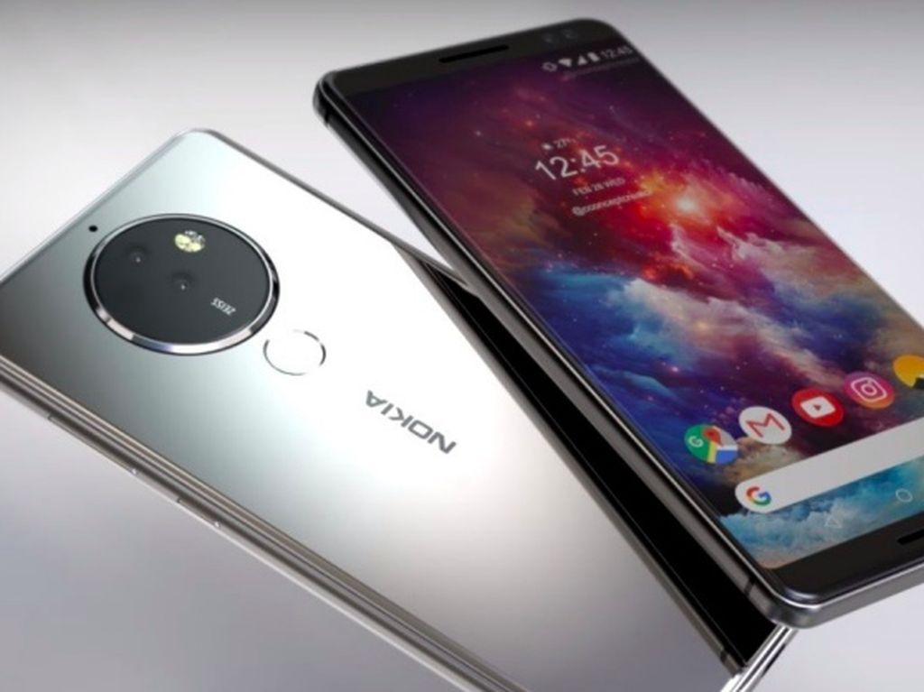 Nokia 8 Pro Usung Kamera 5 Lensa dan Snapdragon 845?