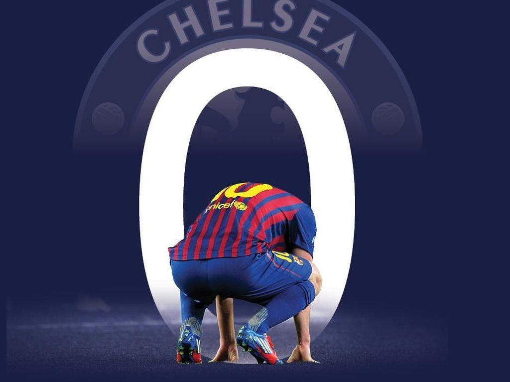 Messi Mencari Gol Pertama ke Gawang Chelsea