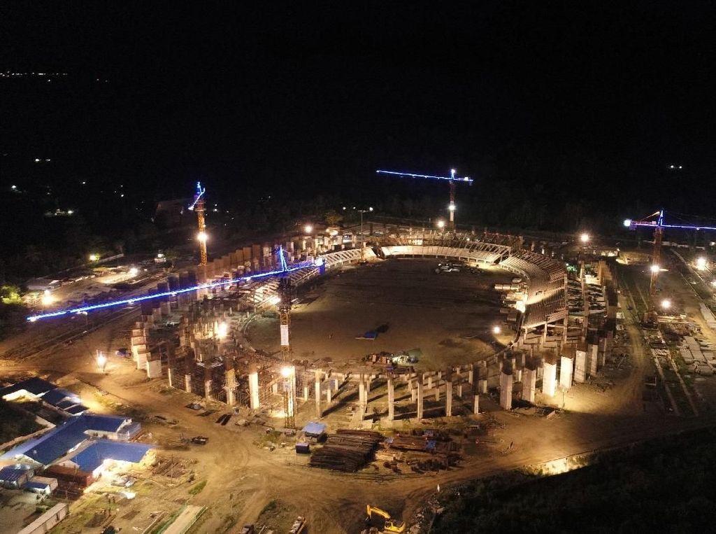 Gubernur Harap Jokowi Resmikan Stadion Papua Bangkit