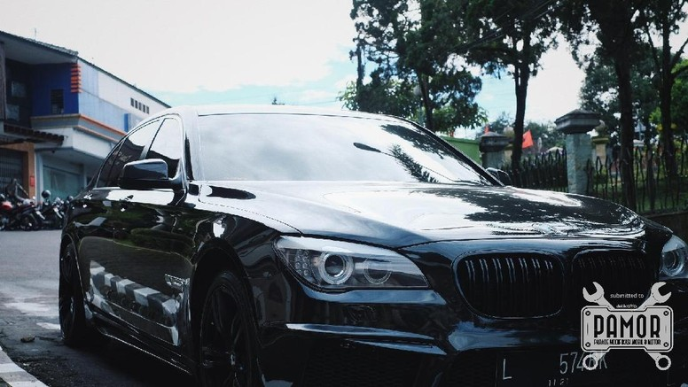 BMW Blackout dari Magelang