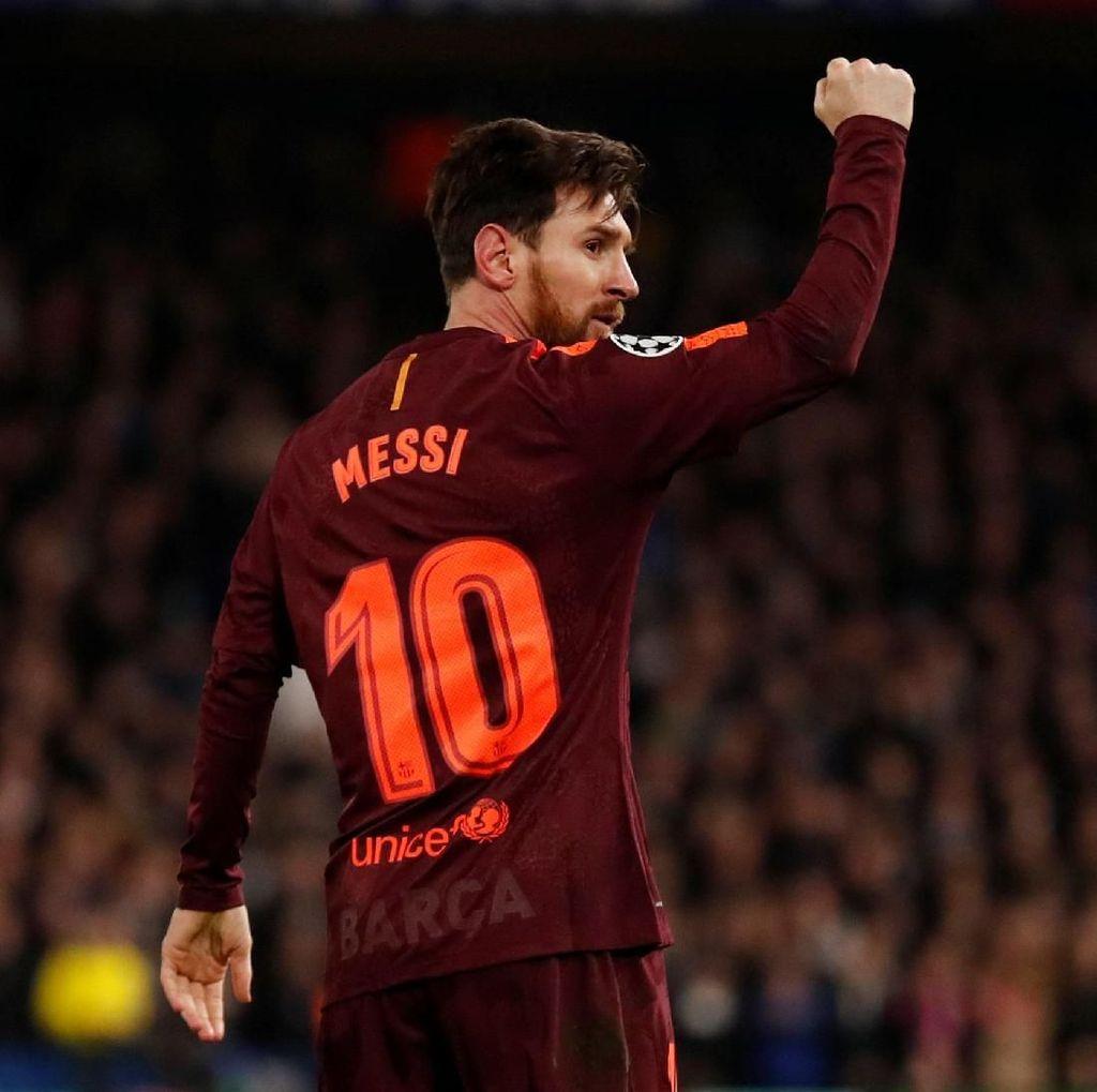 Messi Akhirnya Berhasil Bobol Gawang Chelsea