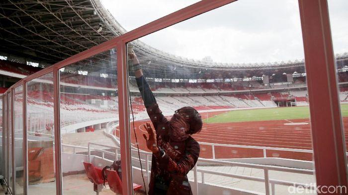 Perbaikan Stadion Utama Gelora Bung Karno (Foto: Agung Pambudhy)