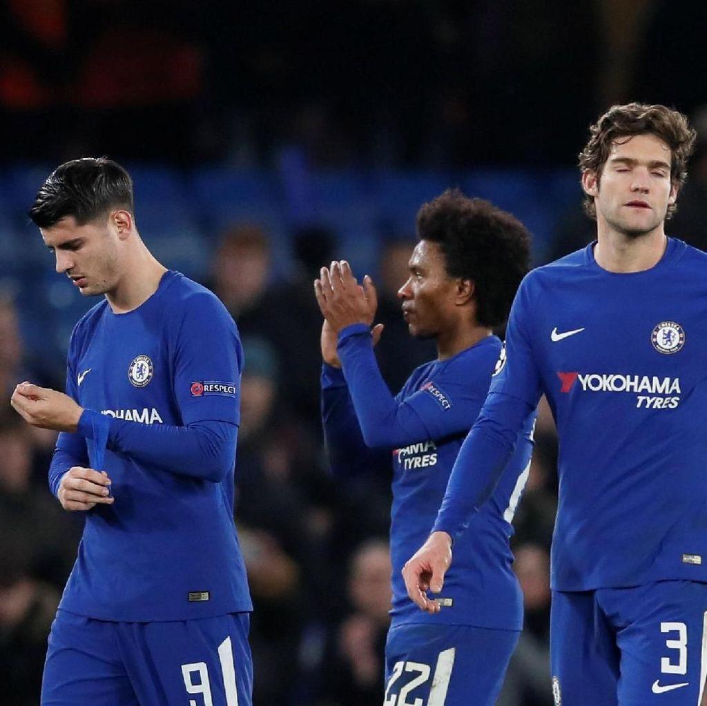 Barca Sudah, Chelsea Kini Fokus ke MU