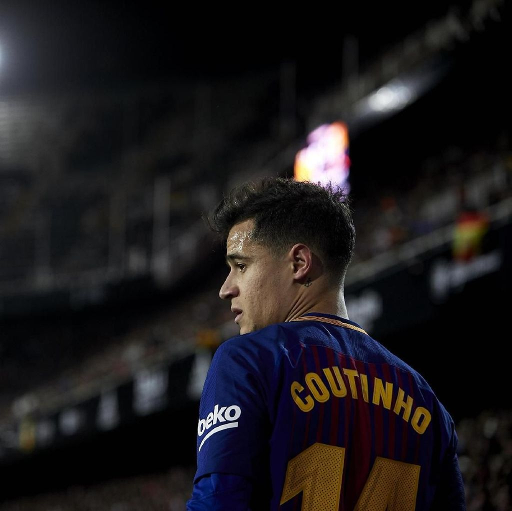 Final Pertama Coutinho bersama Barcelona