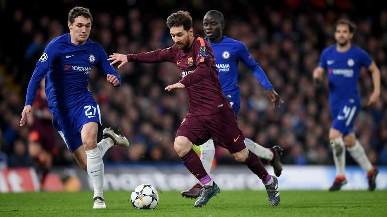 Chelsea vs Barcelona Berakhir Imbang 1-1