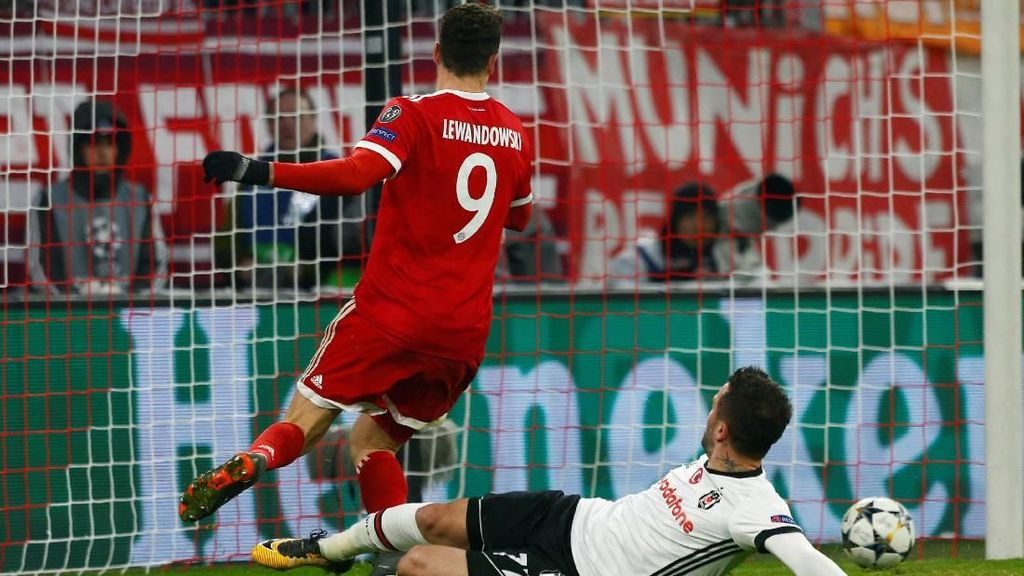 Bayern Gasak Besiktas 5-0