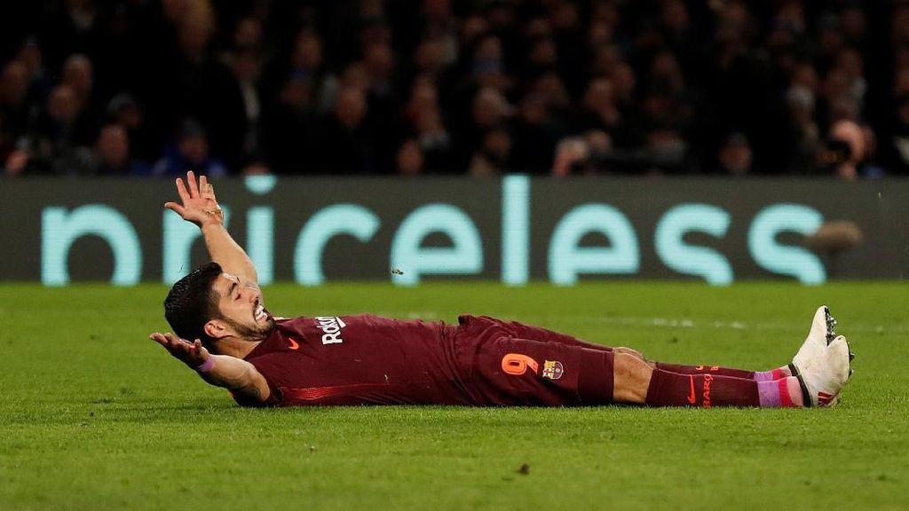 Luis Suarez Masih Puasa Gol di Liga Champions