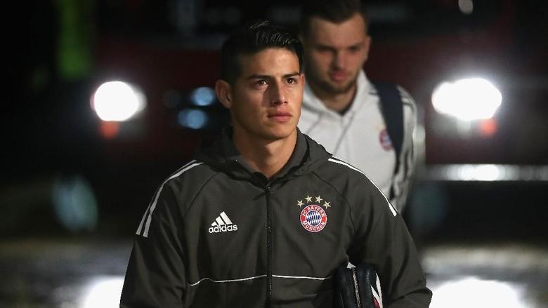 Cedera James Warnai Kemenangan Bayern