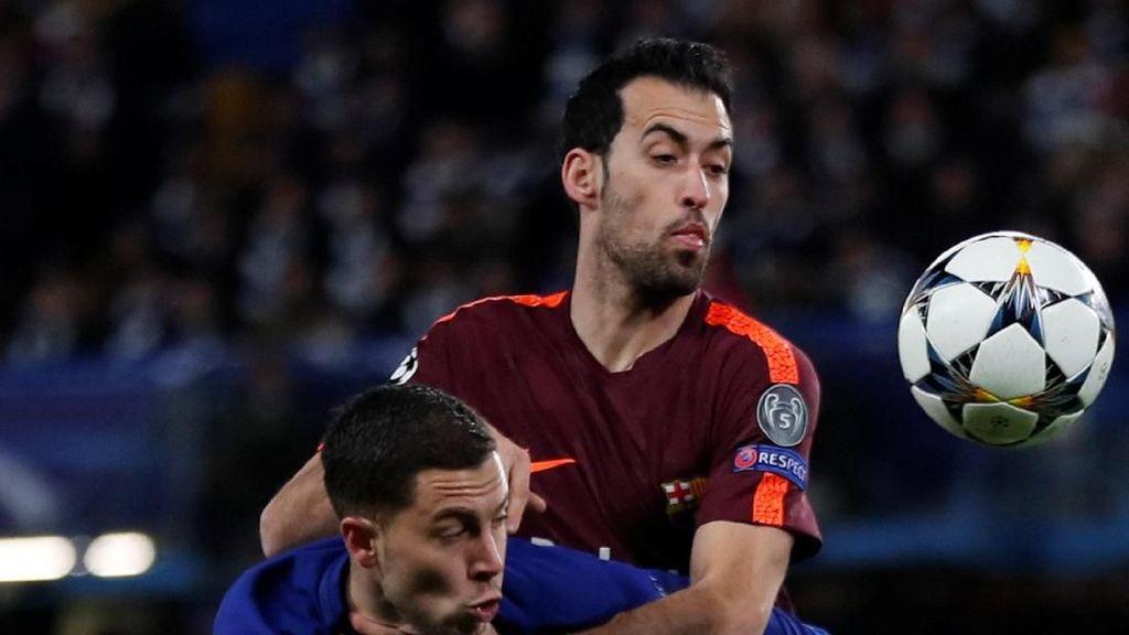 Tentang 139 Passing Busquets Saat Chelsea vs Barcelona