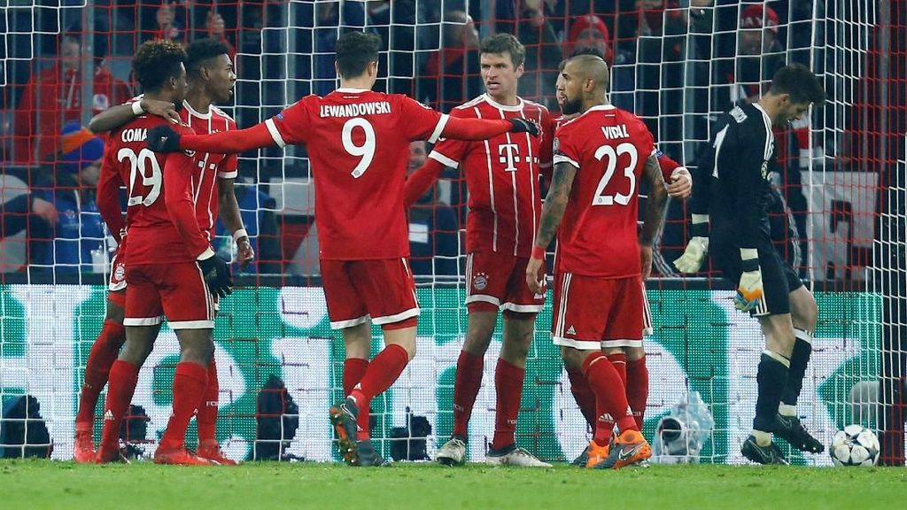 Menang Besar, Bayern Enggan Ambil Risiko di Leg Kedua