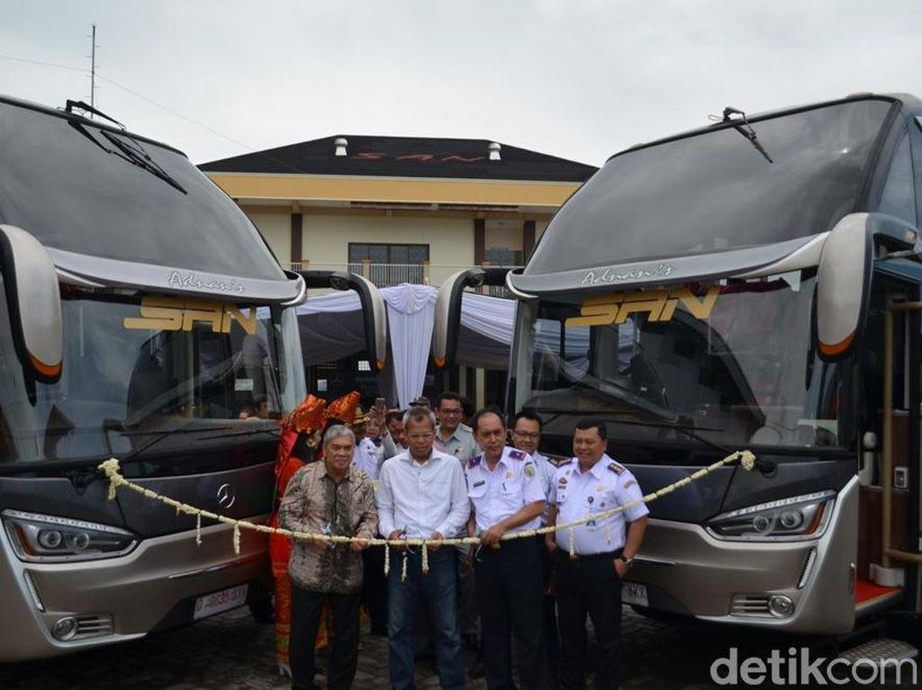 Bus Indonesia Sudah Mulai Pakai Sasis Canggih Buatan Jerman