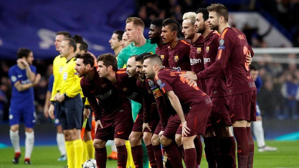 Barcelona Nyaris Selalu Lolos Usai Imbang 1-1 di Kandang Lawan