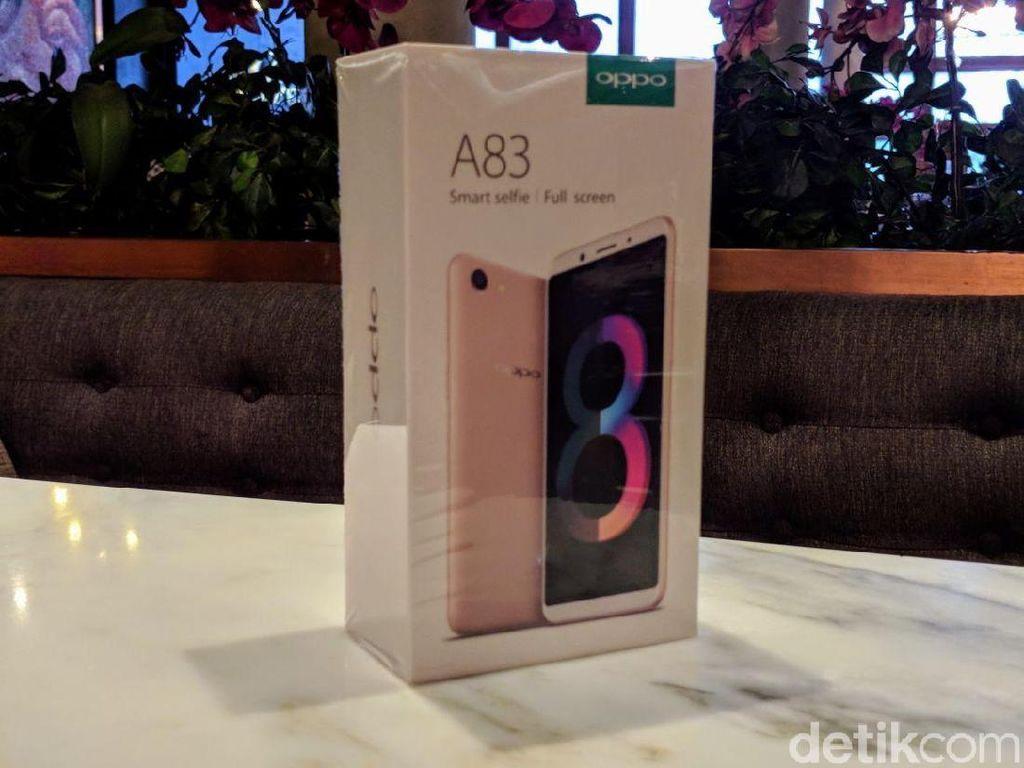 Unboxing Oppo A83, Ponsel Selfie Pintar Ramah Kantong