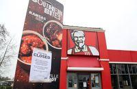 Akibat Pandemi Corona, KFC Tutup Puluhan Gerai