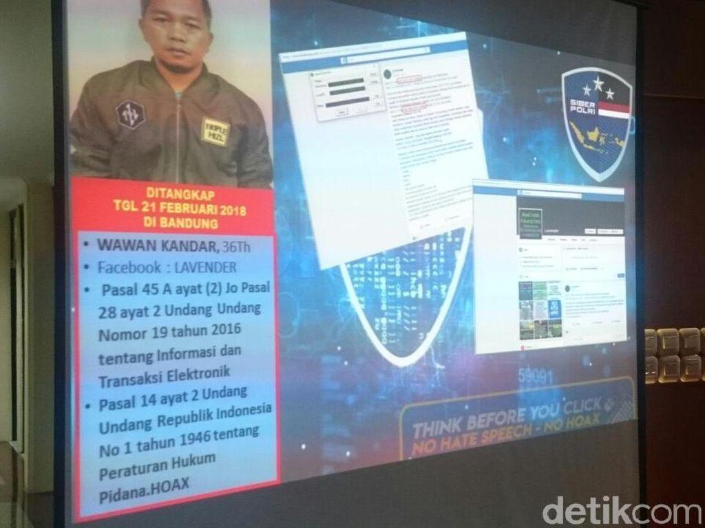 Kelompok Penyebar Berita Hoax di Jawa Barat Mengaku Termakan Isu