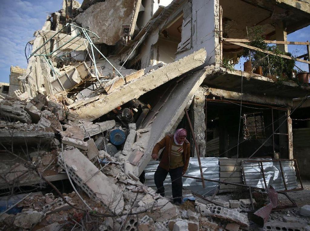 Situasi di Ghouta Suriah Bagai Neraka di Bumi, Ini Kata Rusia