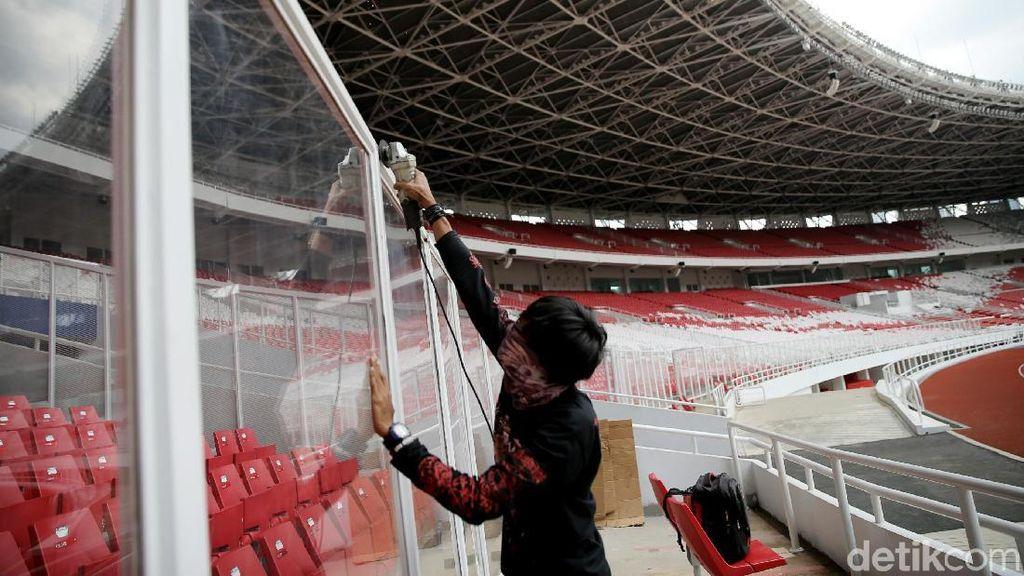 Perbaikan Stadion Utama Gelora Bung Karno Usai Babak Belur