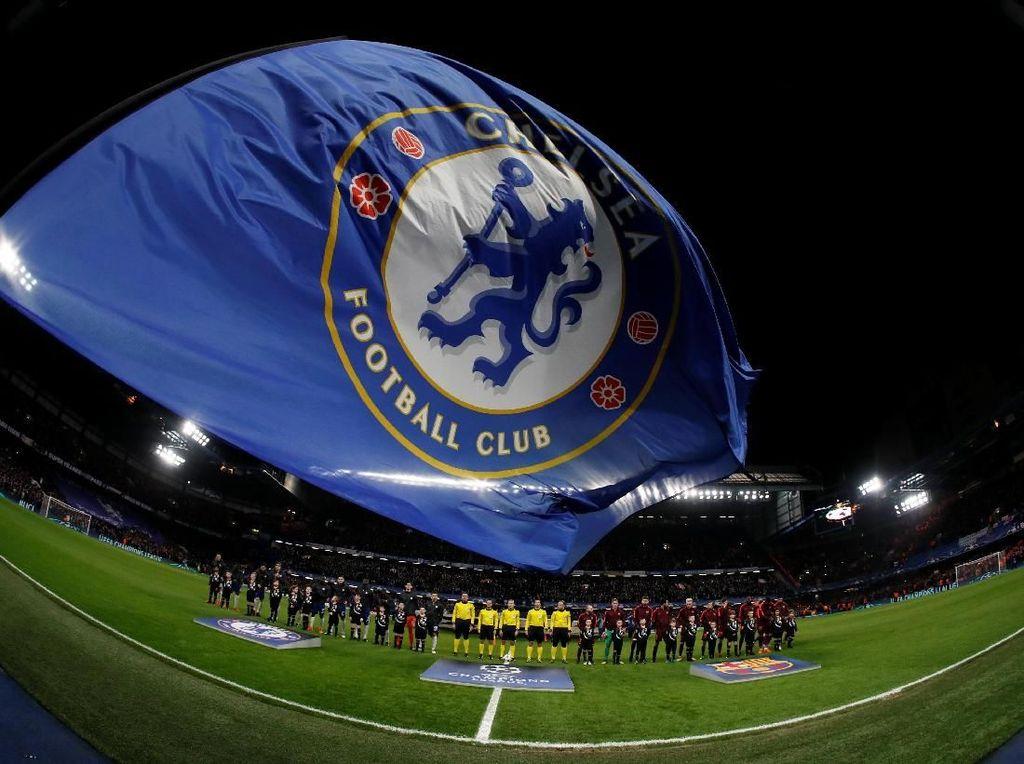 Foto: Duel Chelsea vs Barca di Stamford Bridge Tanpa Pemenang