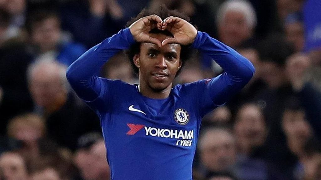 Willian Optimistis Tatap Laga di Camp Nou