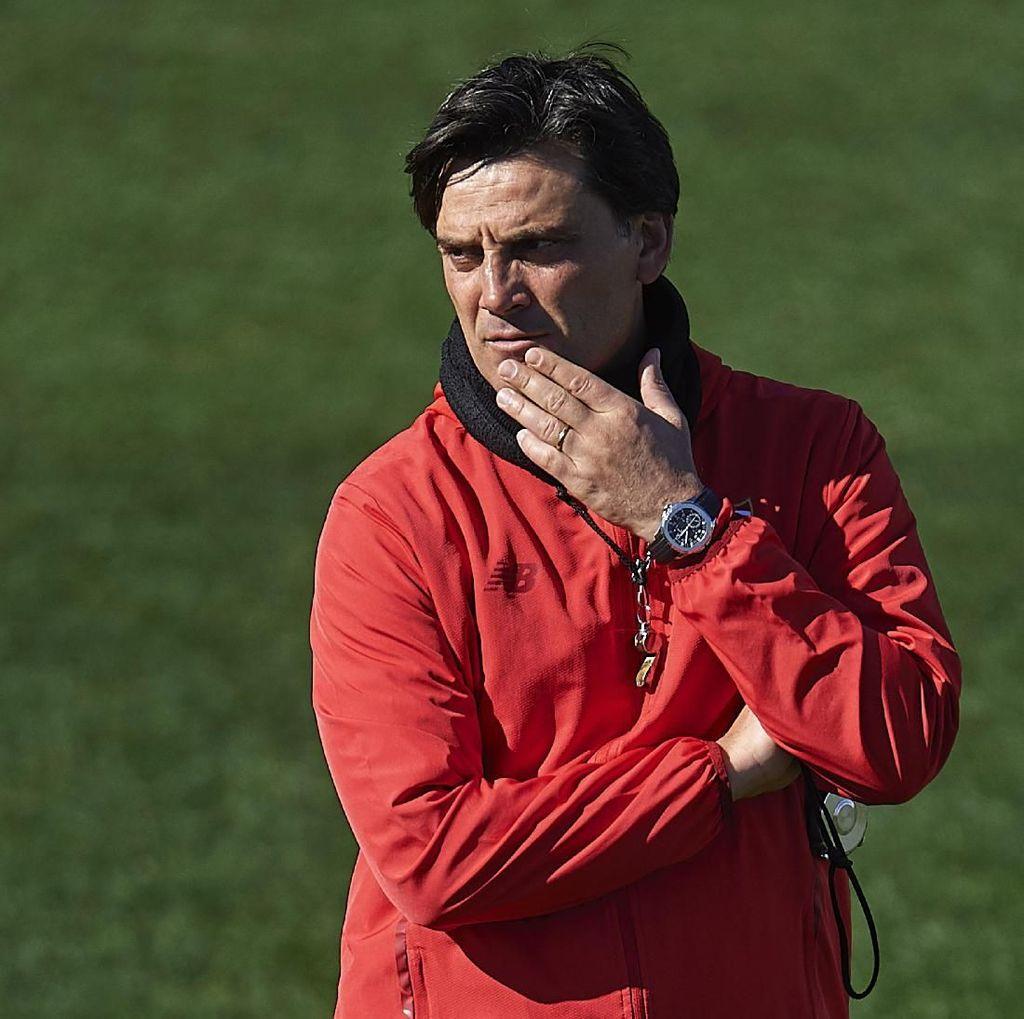 Montella Berharap Pogba Absen Lawan Sevilla