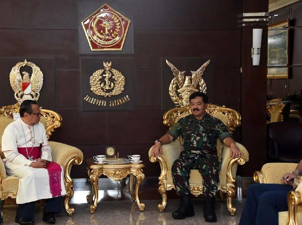 Panglima TNI Terima Kunjungan Uskup Agung Jakarta