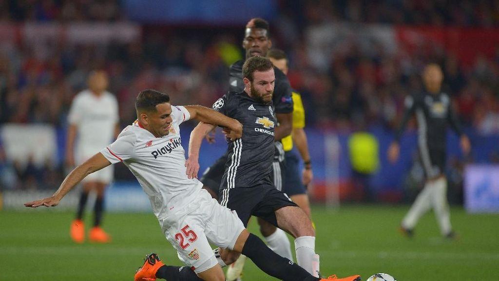 Sevilla vs MU Masih Tanpa Gol