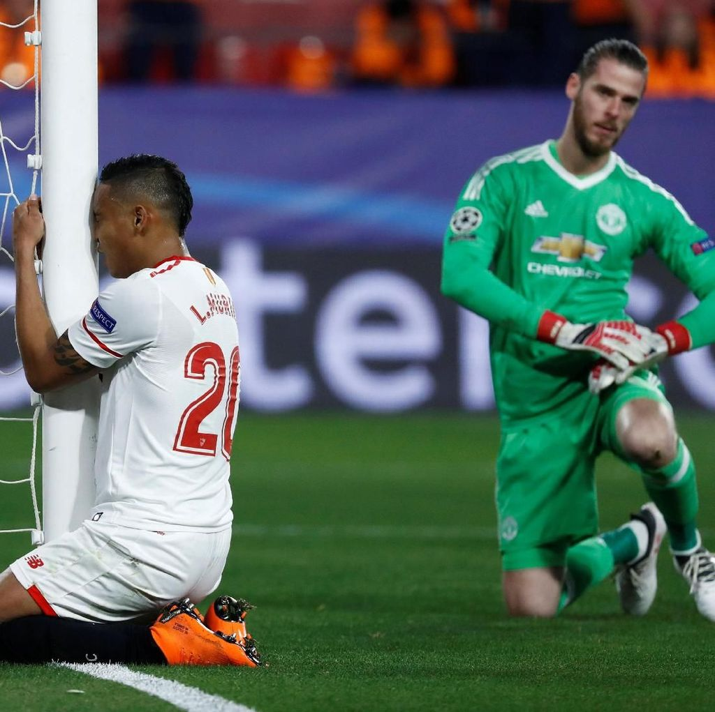 Penyesalan Striker Sevilla Gagal Taklukkan De Gea