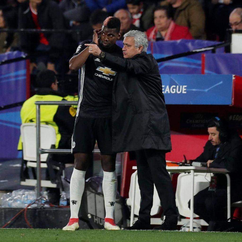 Scholes Sebut Mourinho Kini Kurang Percaya pada Pogba
