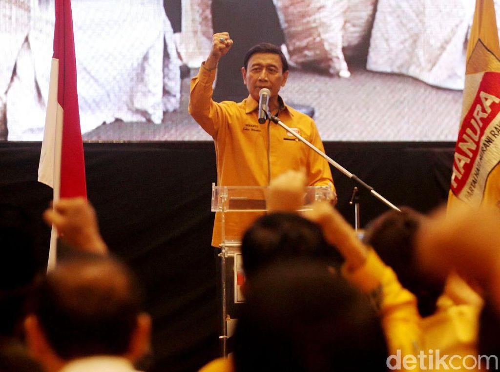 Wiranto Minta OSO Mundur dari Ketum Hanura, Inas: Mencoreng Wantimpres!