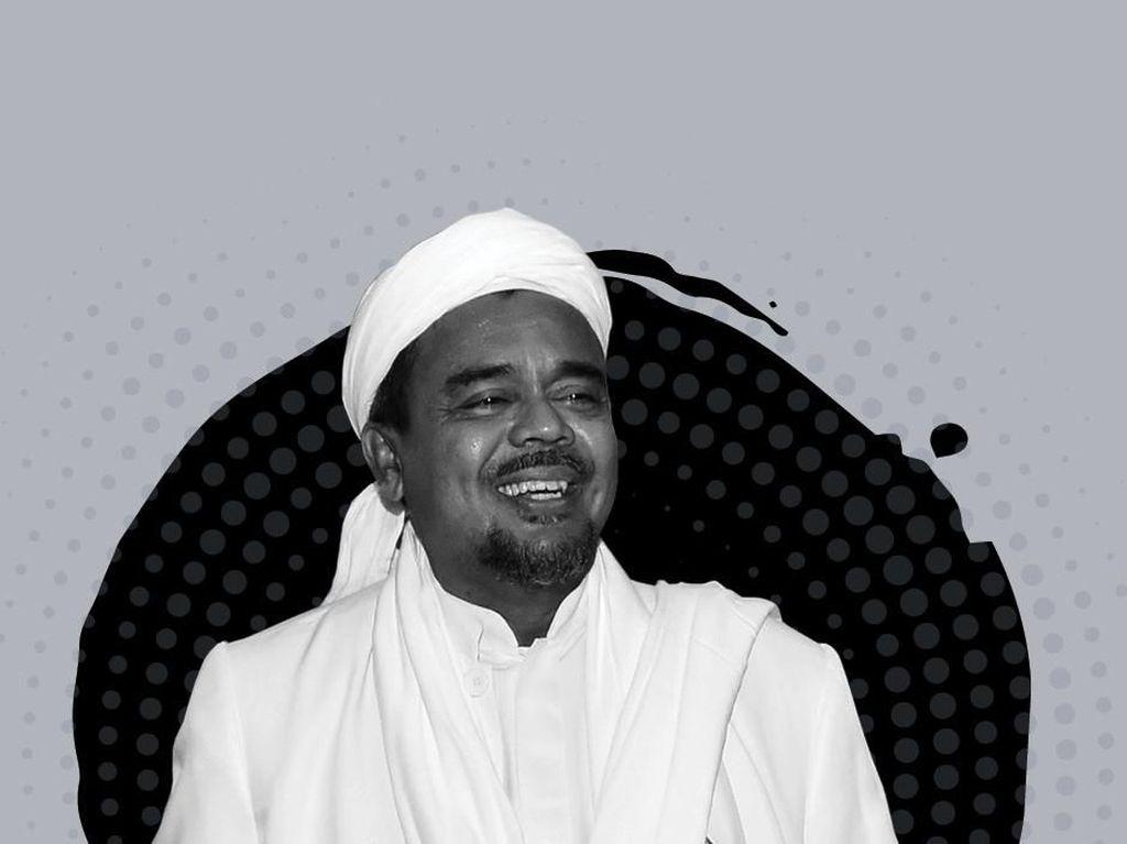 Seputar Biaya Hidup hingga Harga Sewa Rumah Habib Rizieq di Saudi