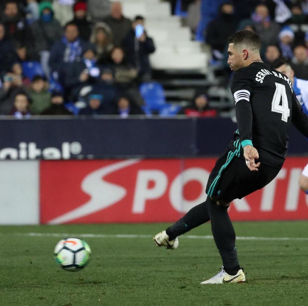 Kala Ramos dan Bale Berebut Penalti