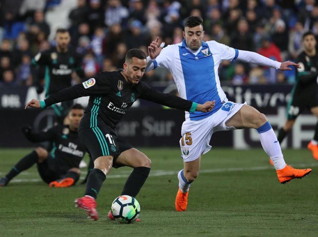 Sempat Tertinggal, Madrid Kalahkan Leganes 3-1