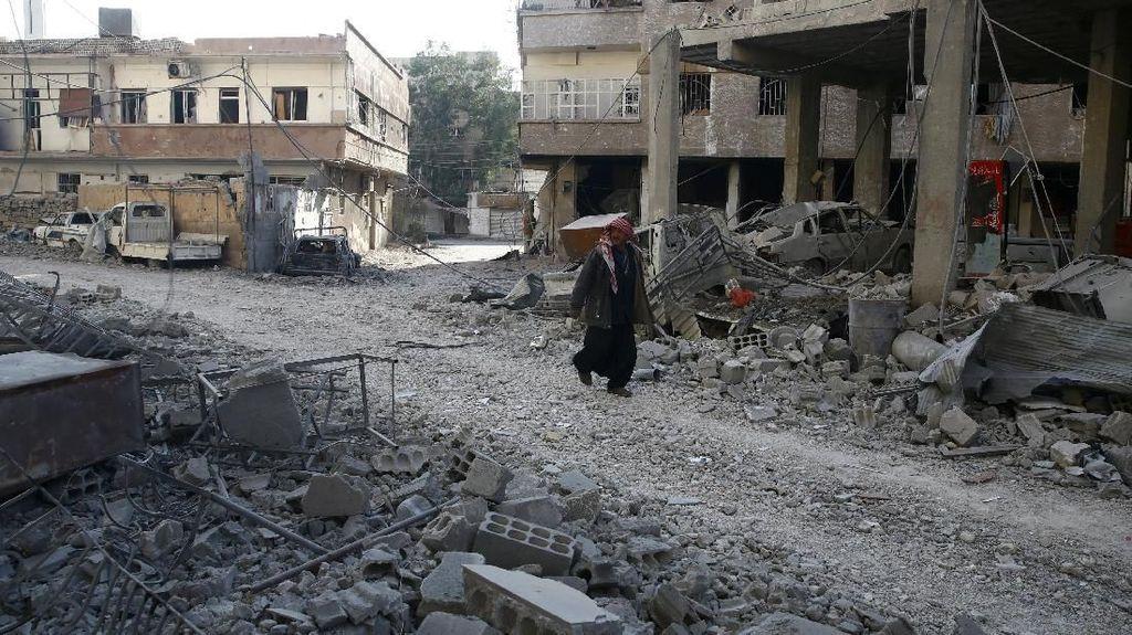 Melihat Suasana Ghouta Suriah yang Disebut Bagai Neraka di Bumi