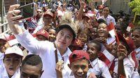 Sebelum menjadi Ketua DPR 2019-2024, Puan Maharani menjabat sebagai Menko Bidang Pembangunan Manusia dan Kebudayaan