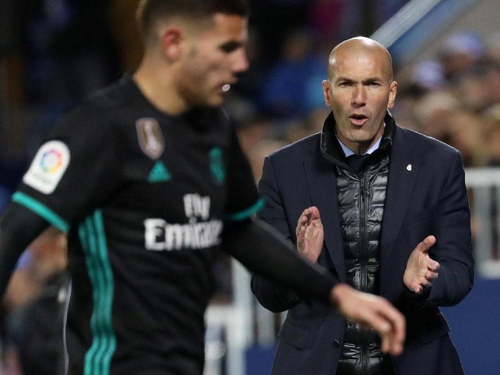 Zidane: Pertahankan Momentum, Madrid