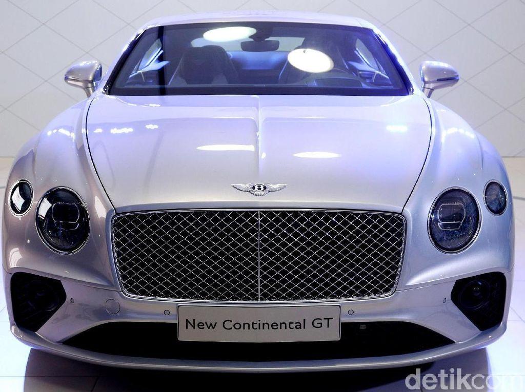 Bentley Continental GT Pakai Bahan Alumunium seperti Pesawat Terbang