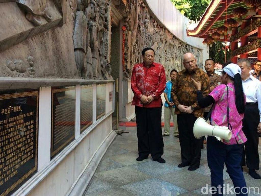 Ketika Dubes Amerika Serikat Datangi dan Pelajari Kota Semarang