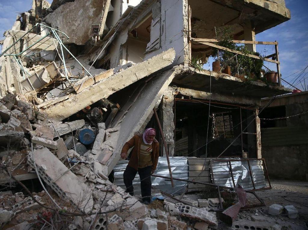 Arab Saudi Minta Suriah Hentikan Kekerasan di Ghouta Timur